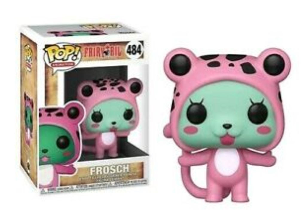 FUNKO POP FROSCH #484 FAIRY TAIL ANIMATION