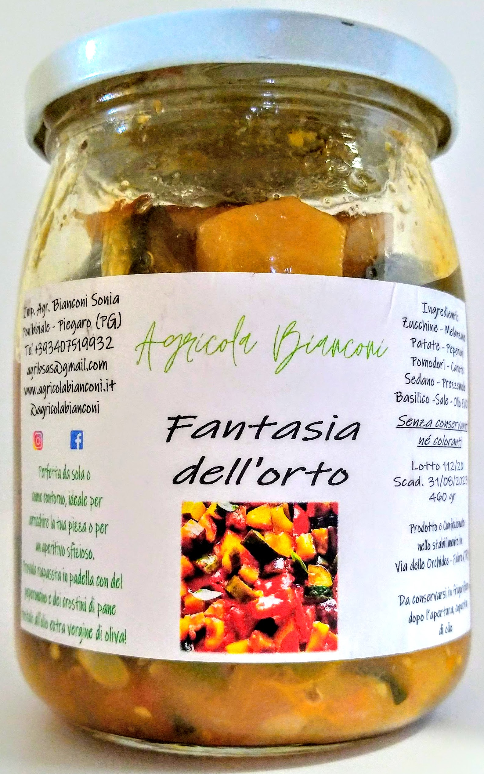 FANTASIA DELL'ORTO 460 GR - FANTASY OF THE GARDEN 460 GR