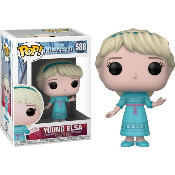 FUNKO POP YOUNG ELSA #588 FROZEN DISNEY