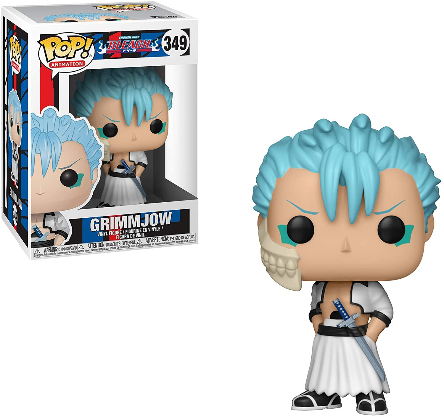 FUNKO POP GRIMMJOW #349 BLEACH ANIMATION