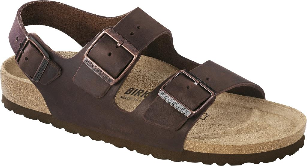 Birkenstock Milano Oiled Leather habana