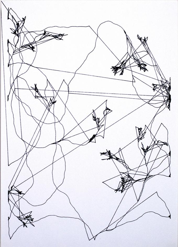 1 Gioele Villani tree genhabitat 2021 disegno automatico da Succosa con pennarelli su carta liscia 297x42cmjpg