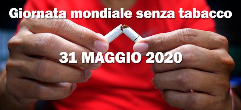 Giornata Mondiale Senza Tabacco 31052020png