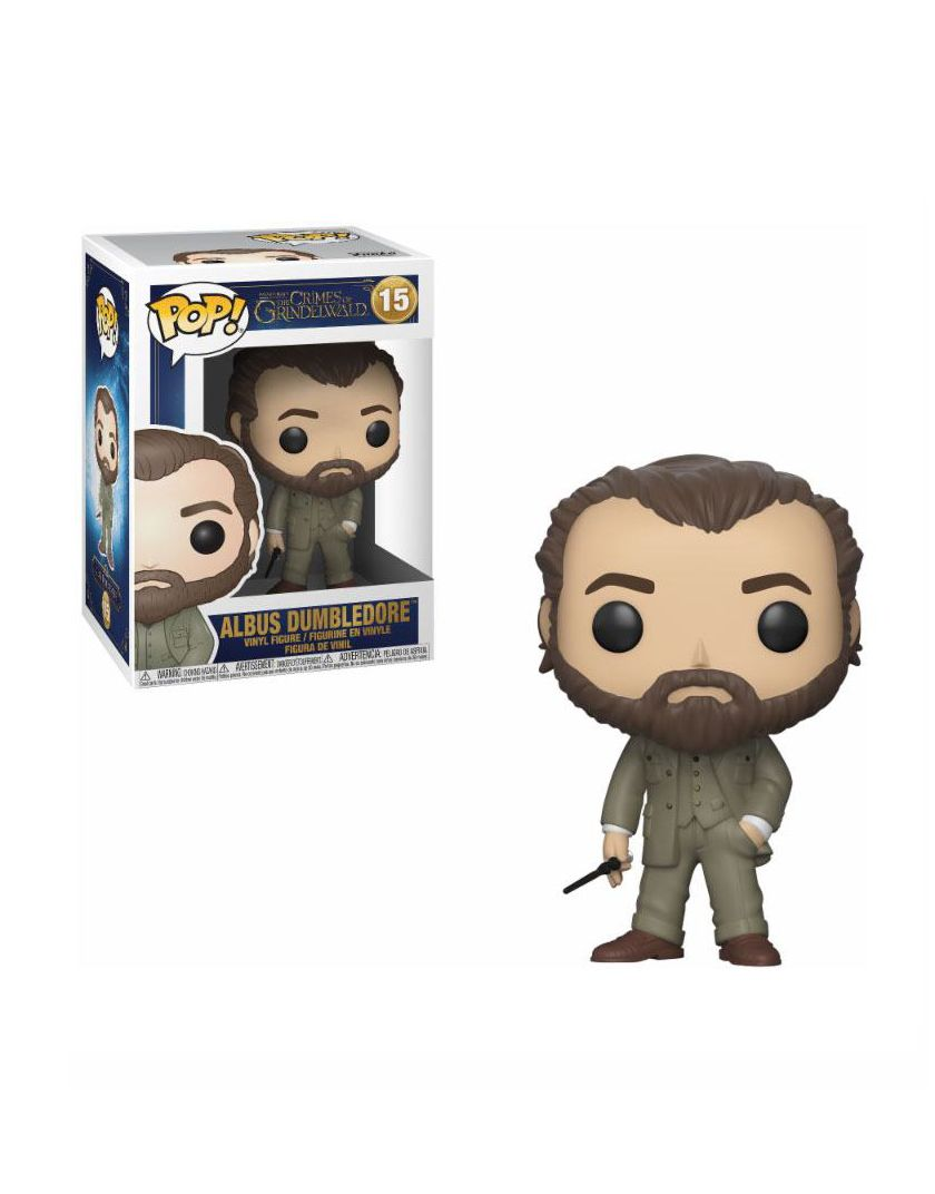 FUNKO POP ALBUS DUMBLEDORE # 15 FANTASTIC BEASTS