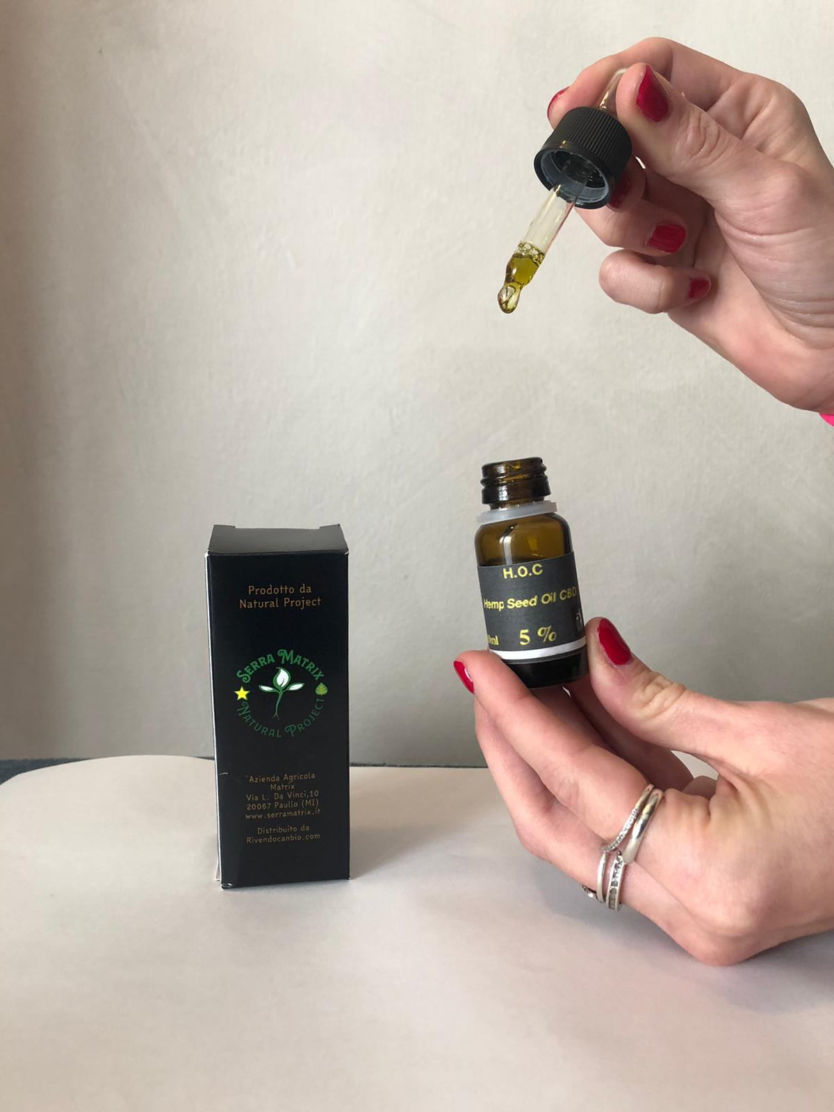 CBD Oil Full Spectrum 10% H.O.C.10ml