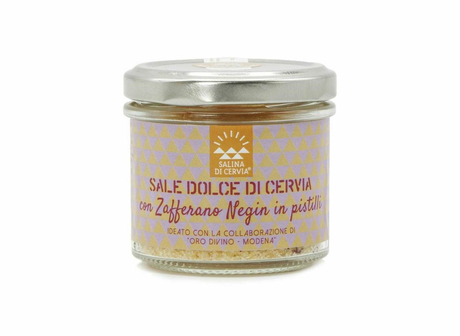 Sale con zafferano Negin in pistilli 80g