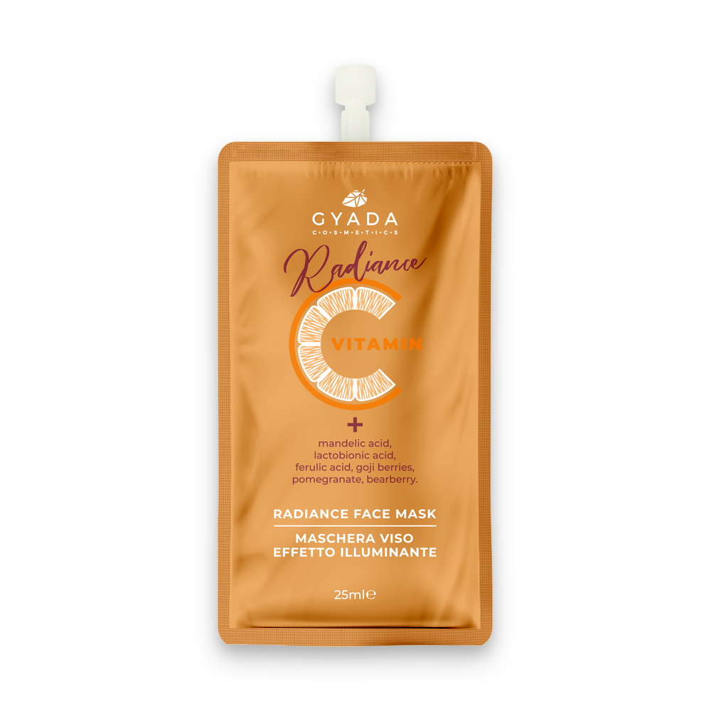20% DI SCONTO - GYADA COSMETICS Radiance Vitamina C  Face Mask 25ml