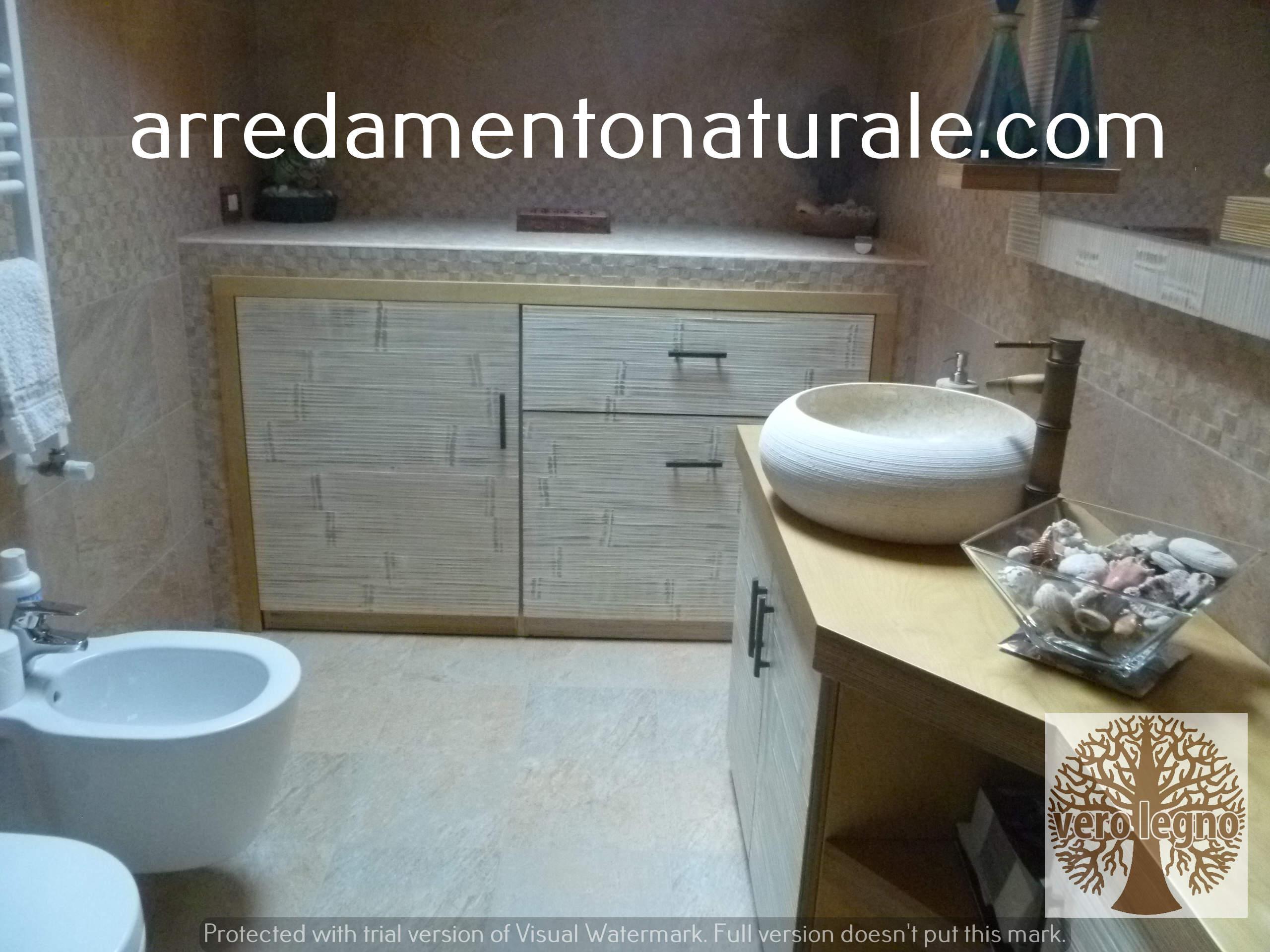 Bagno Stile Naturale : Fabbrica mobili in legno massiccio naturale