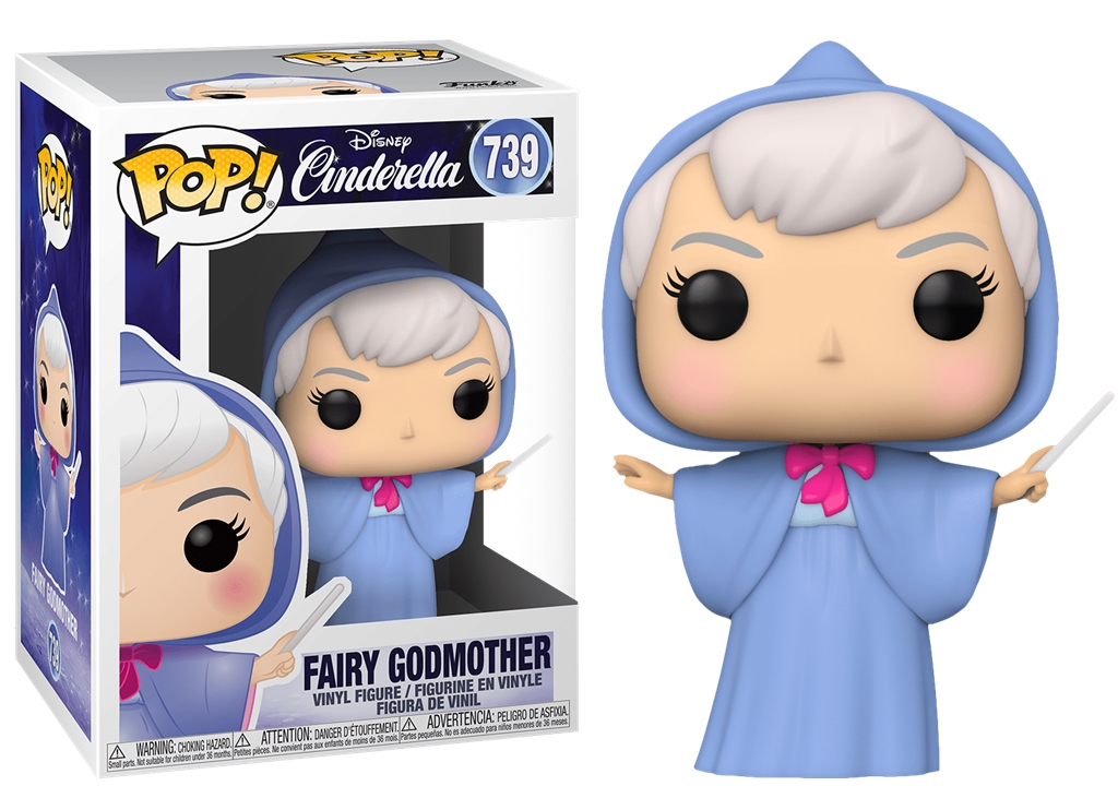 FUNKO POP FAIRY GODMOTHER #639 CINDERELLA CENERENTOLA DISNEY