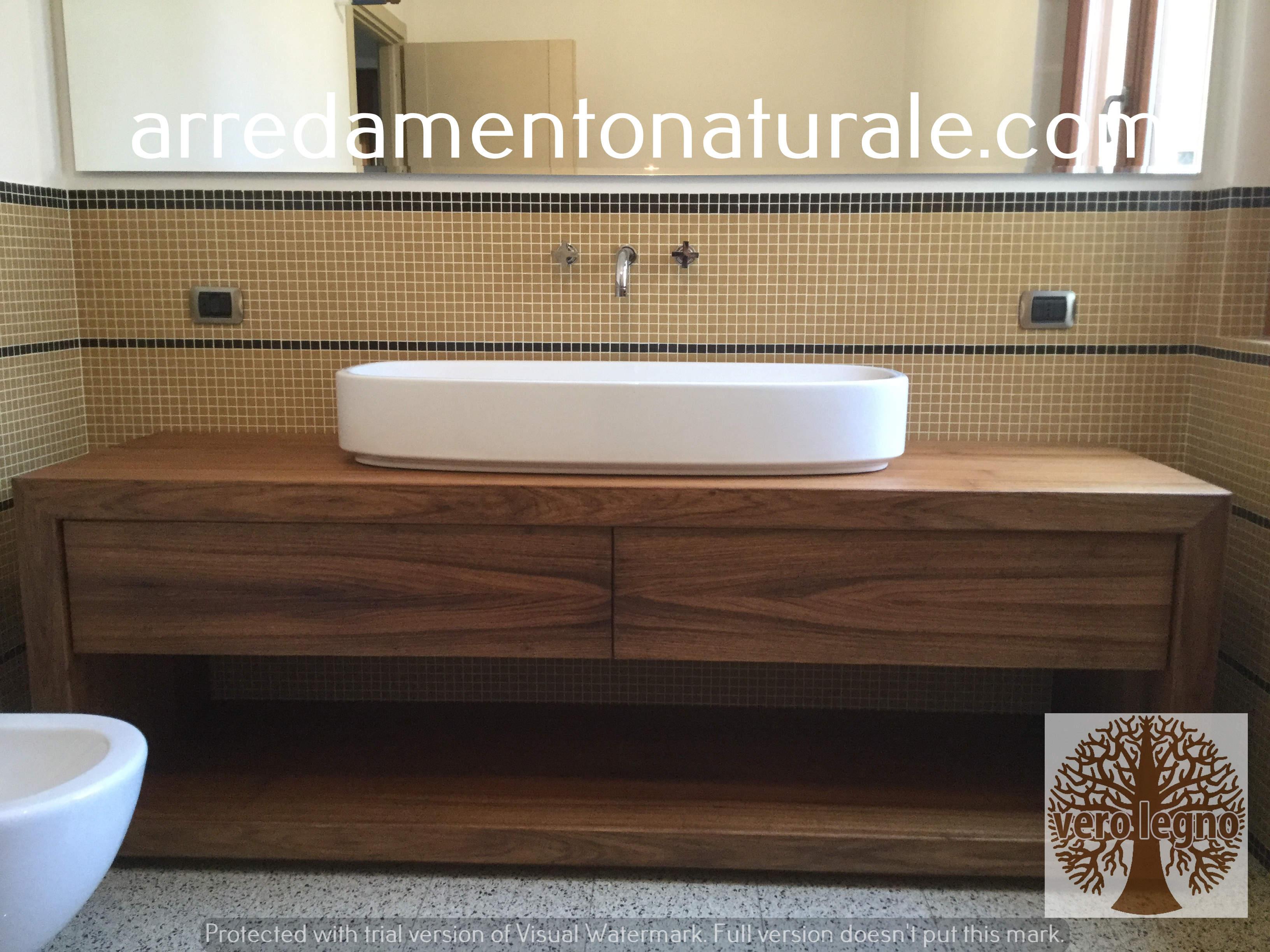 fabbrica mobili in legno massiccio naturale