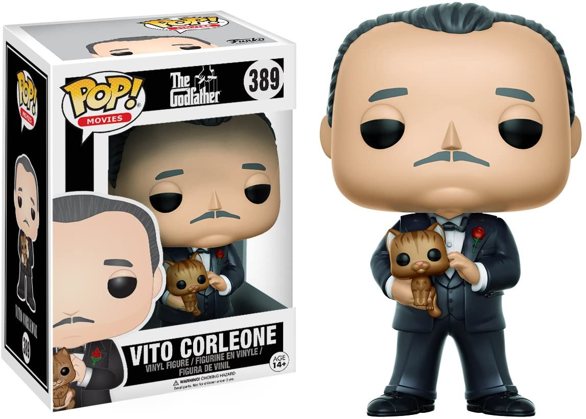 FUNKO POP VITO CORLEONE #389 MARLON BRANDO IL PADRINO THE GODFATHER MOVIES