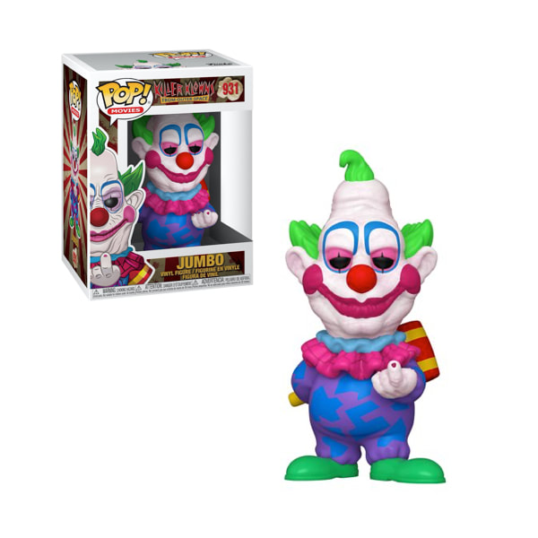 FUNKO POP JUMBO #931 KILLER KLOWN FROM OUTER SPACE MOVIES BRETT LEONARD