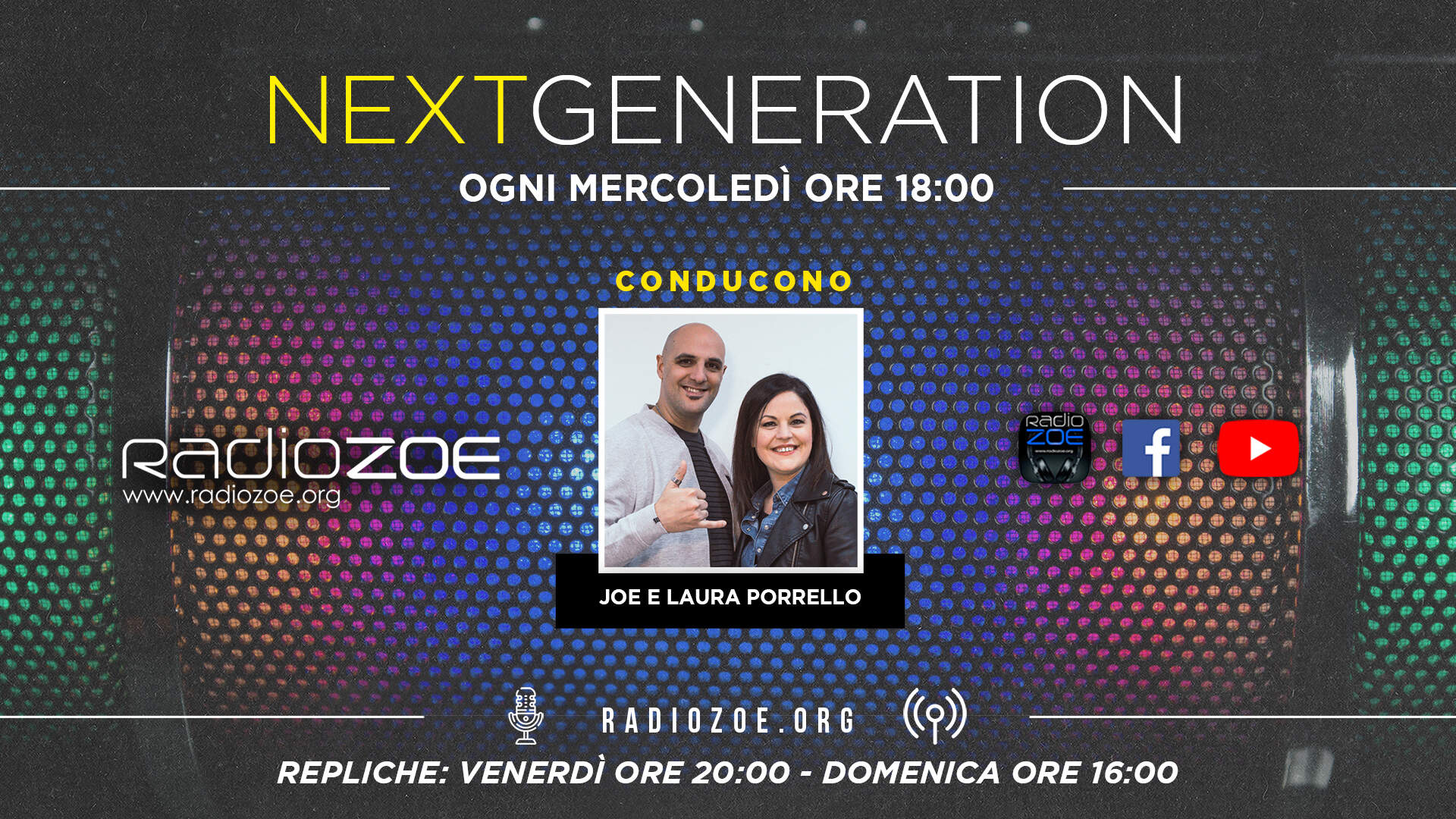 """Next Generation"", il nuovo programma condotto da Joe Porrello."