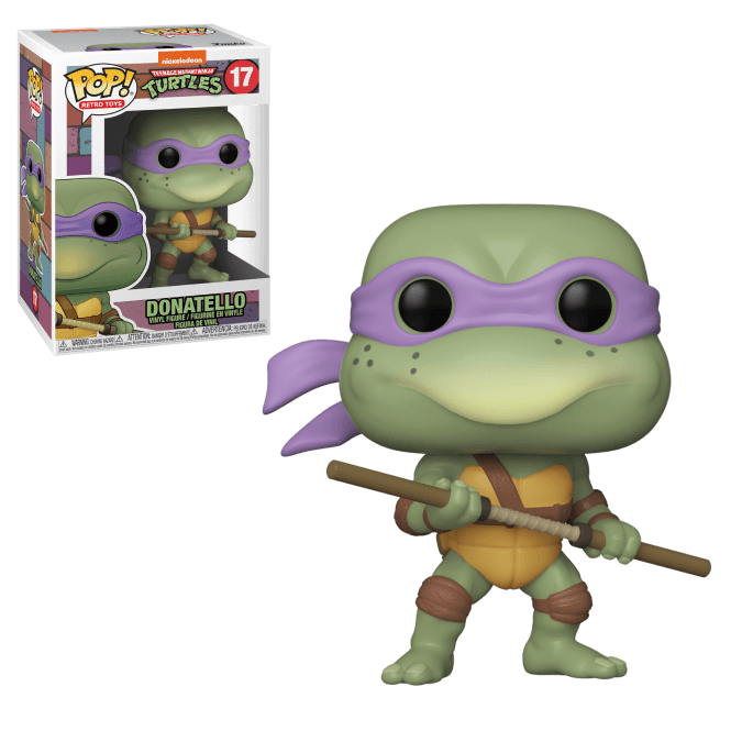 FUNKO POP DONATELLO #17 NINJA TURTLES TMNT