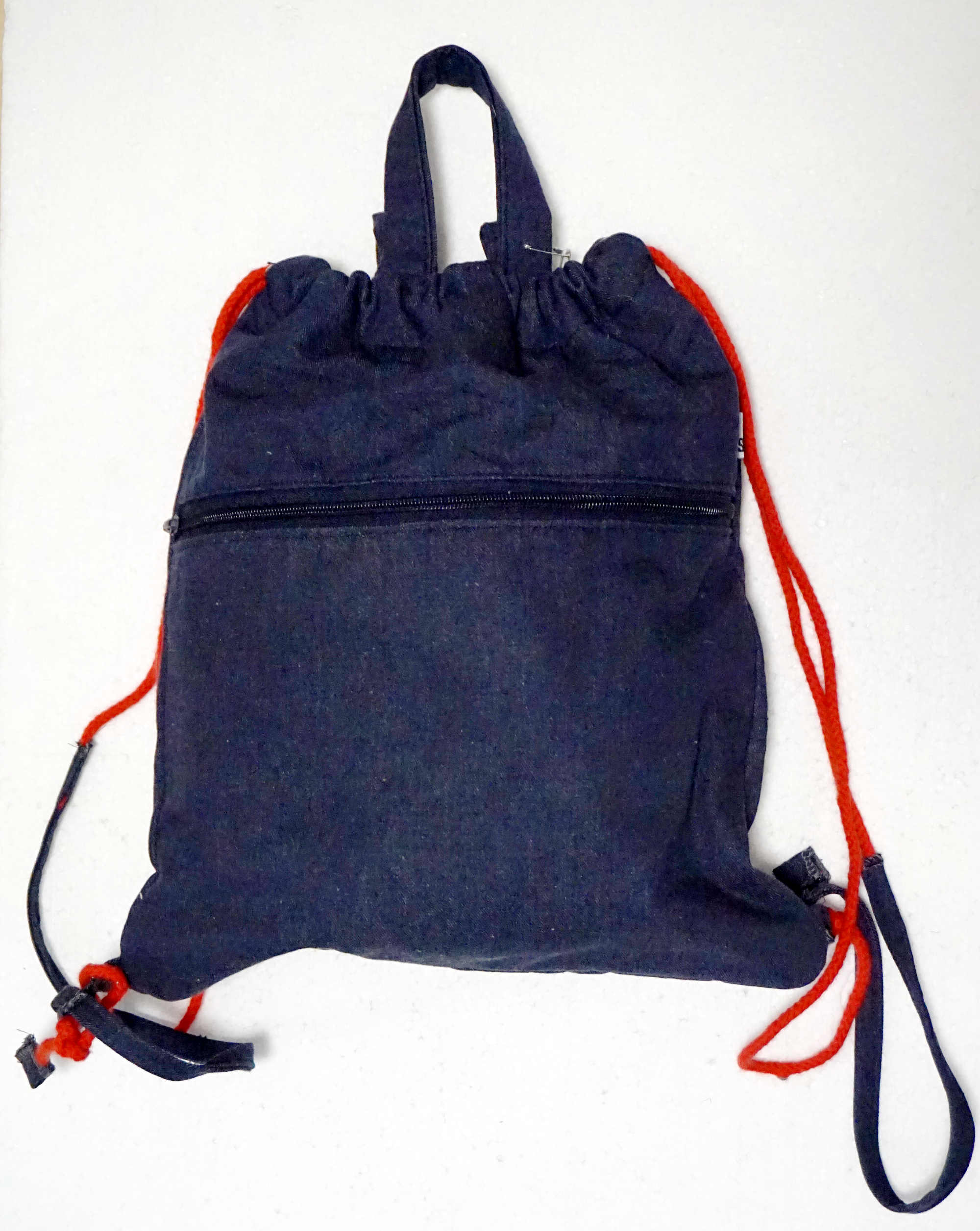 zaino-borsa in denim