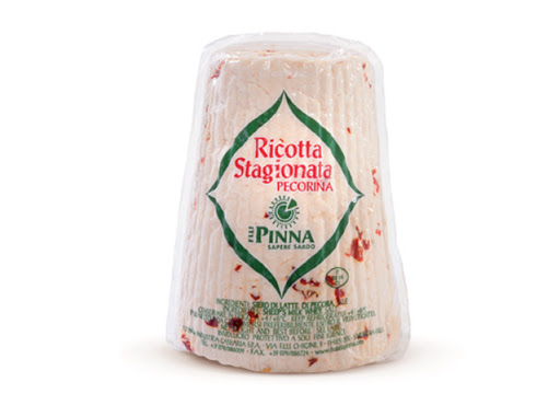 "Hot Ricotta Salata Cheese -  Pound Cut  (14.10 oz) ""Imported from Italy"""