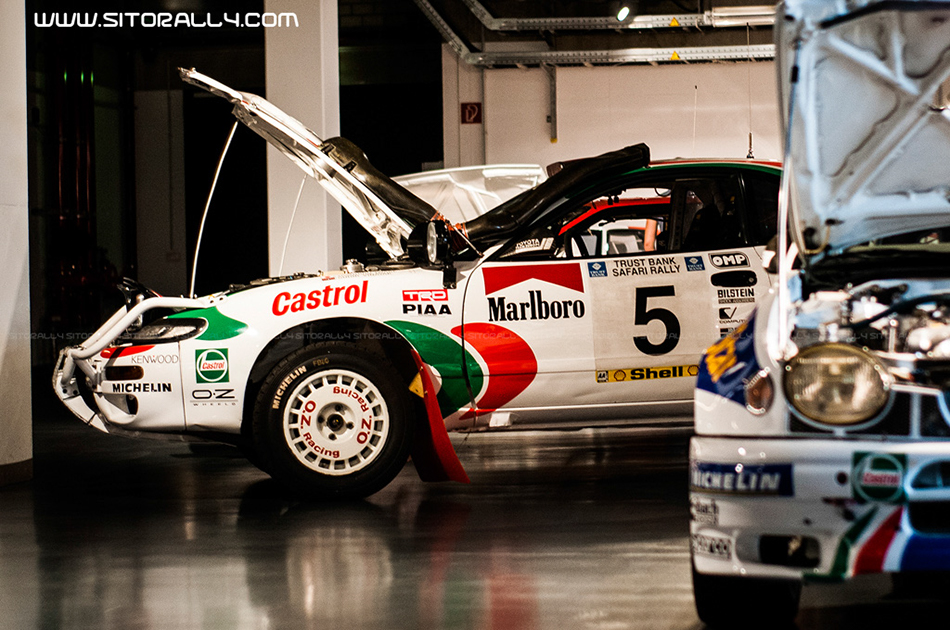 Toyota Secret Collection, TTE, TMG, Toyota Motorsport, SitoRally