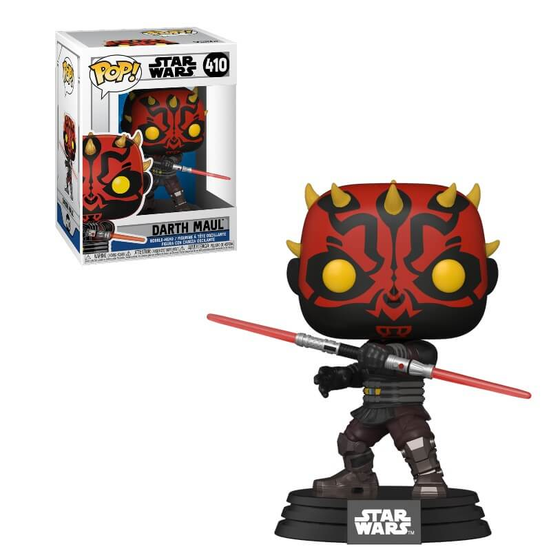FUNKO POP DARTH MAUL #410 - STAR WARS RAY PARK