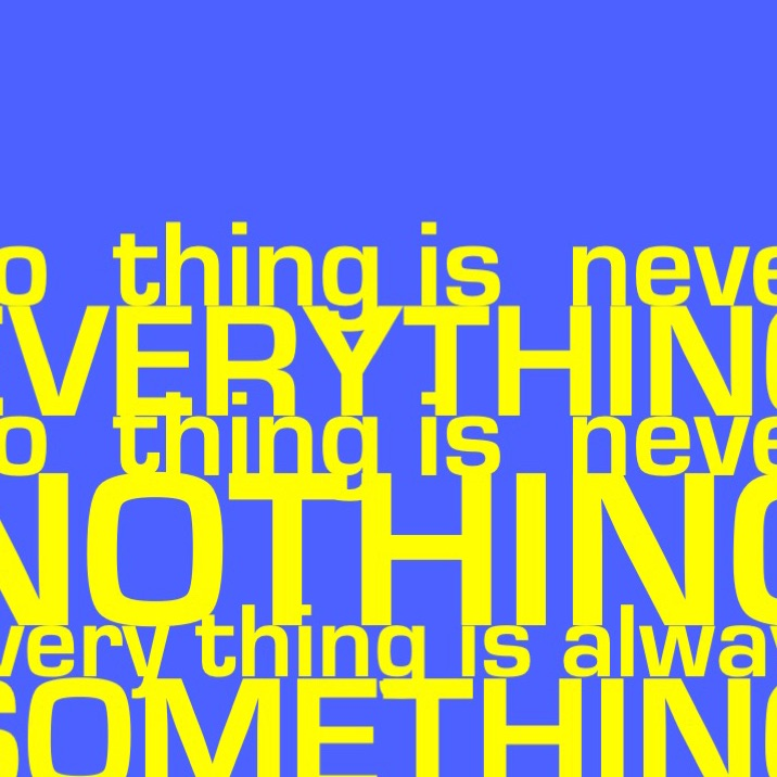 Nr. 37 - WORDS ON THINGS IV