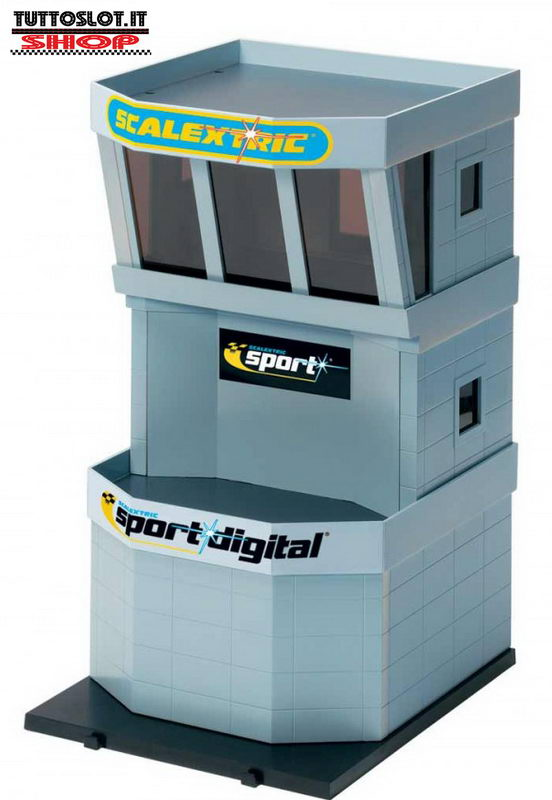Torre controllo box Scalextric - Control tower Scalextric