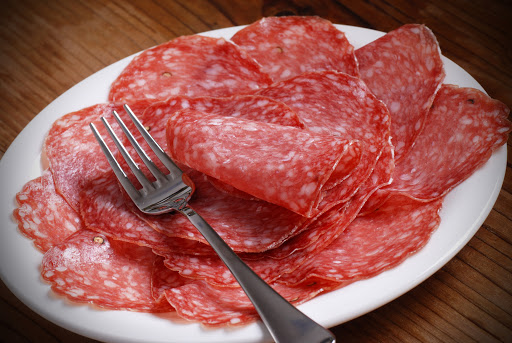 "Sliced Hungarian Salame 60gr (2.11oz) ""Imported from Italy"""