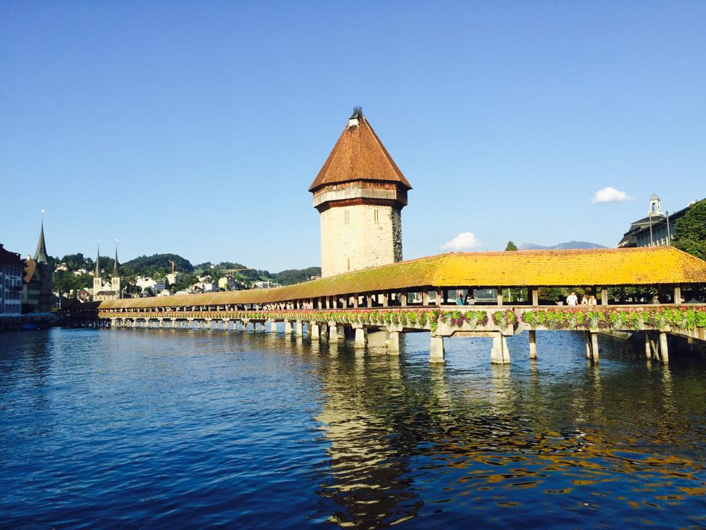 Ponte  della cappella e Torre dellacqua     foto di Paola Cadorinjpeg