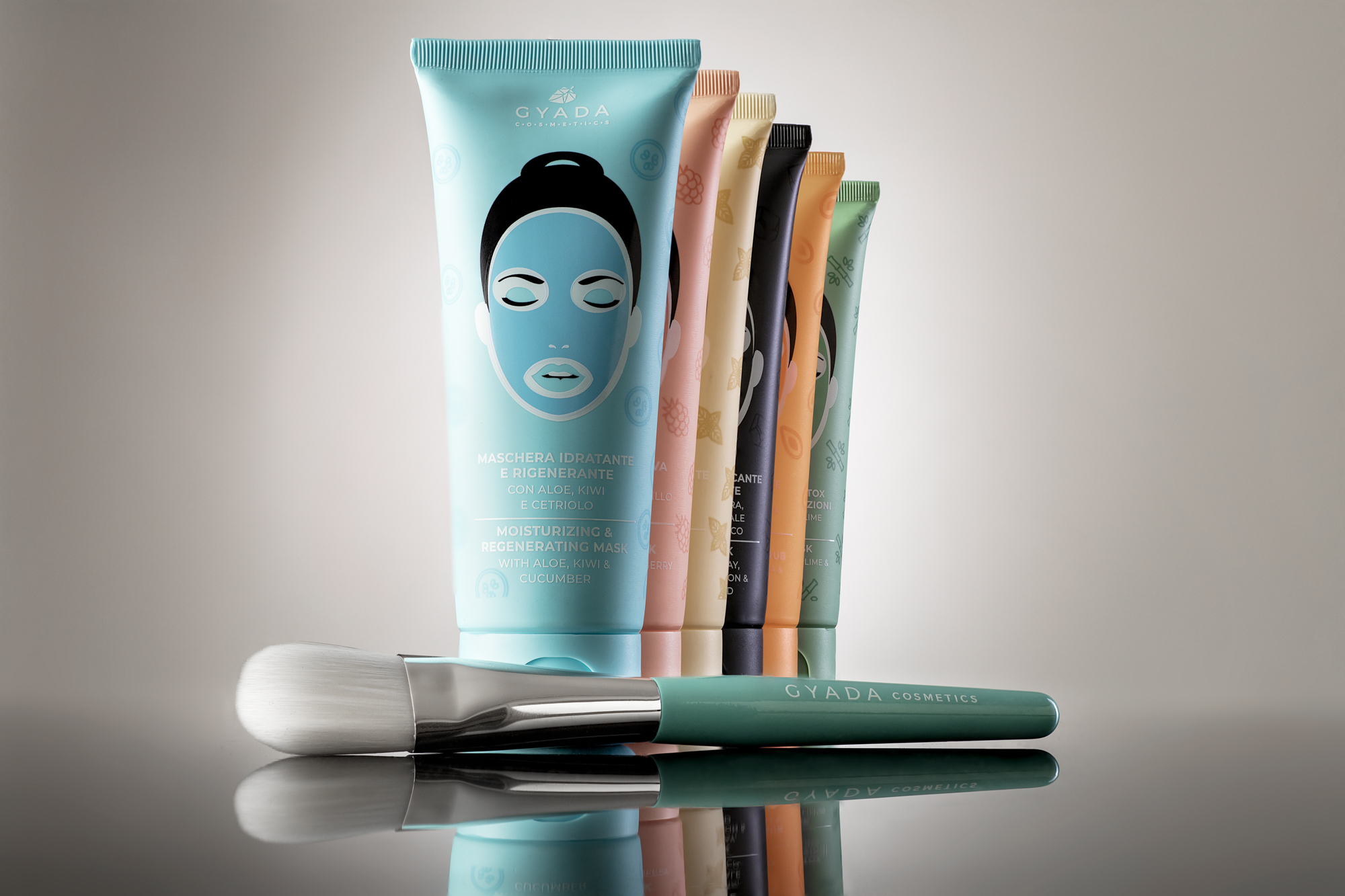 GYADA COSMETICS - Mask Brush - Pennello Per Maschera Viso
