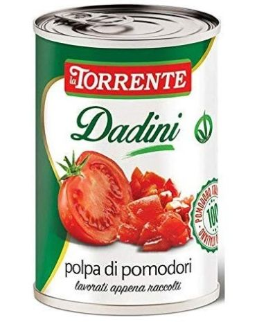 "Chopped Tomato  La Torrente 400gr (14.10oz) ""Imported from Italy"""