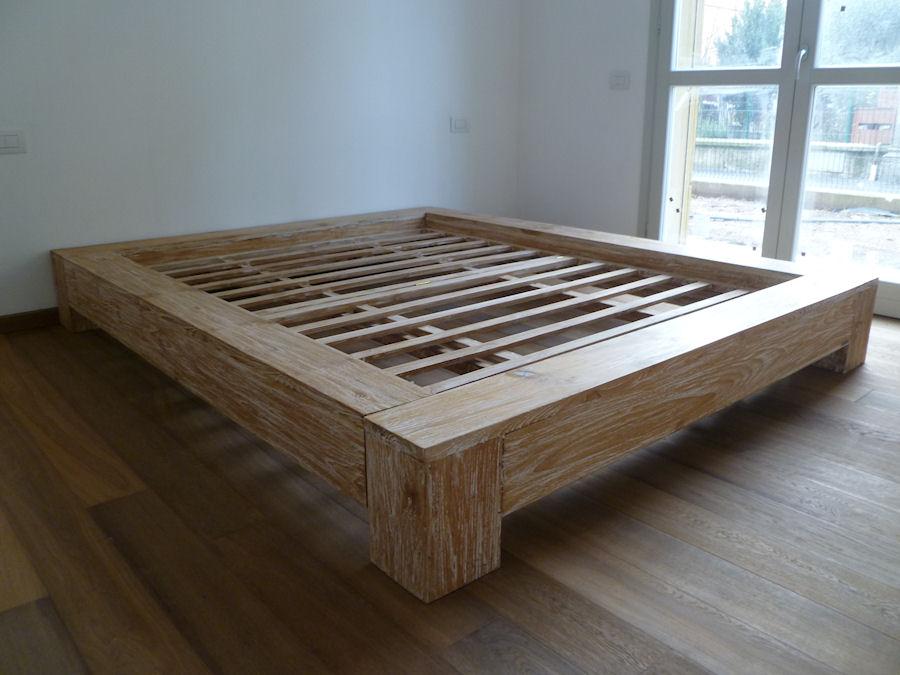 camere da letto e letti contenitore in legno massello di produzione ...