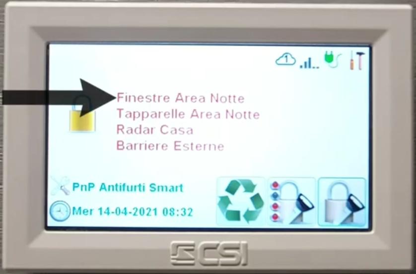 Come eseguire un inserimento personalizzato antifurto Infinite CSIpng