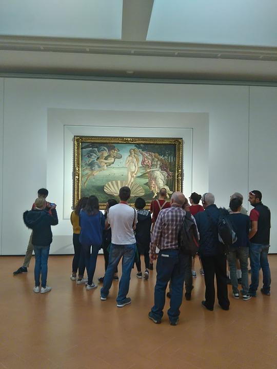 Ufifizi Nascita di Venere Botticellijpg