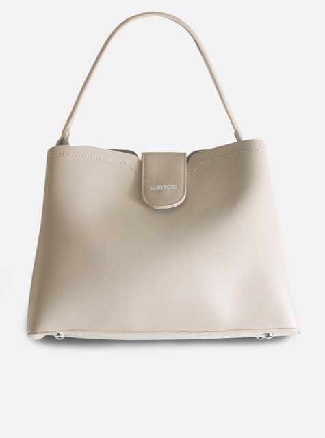 LABEL ROSE SHOULDER BAG CRISTINA BEIGE