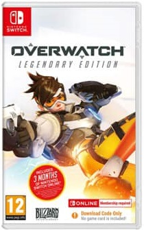 OVERWATCH - LEGENDARY EDITION (CODE IN BOX) NINTENDO SWITCH