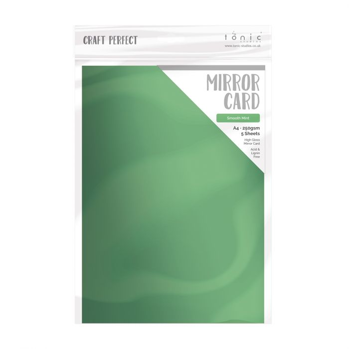Craft Perfect • Mirror card Smooth mint