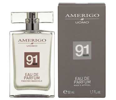 Eau de parfum 50 ml spray Uomo 91 Amerigo