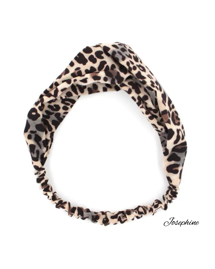 Fascetta per capelli Animal print