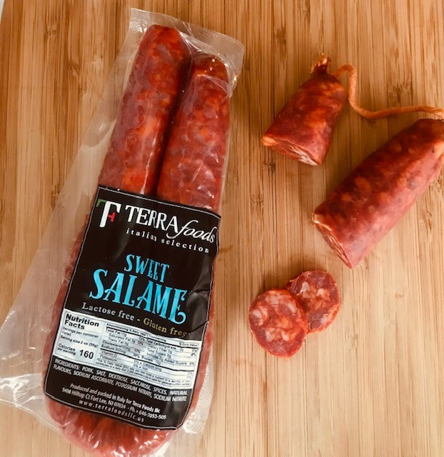 Salame Girella Sweet  350gr (12.34oz) average weight