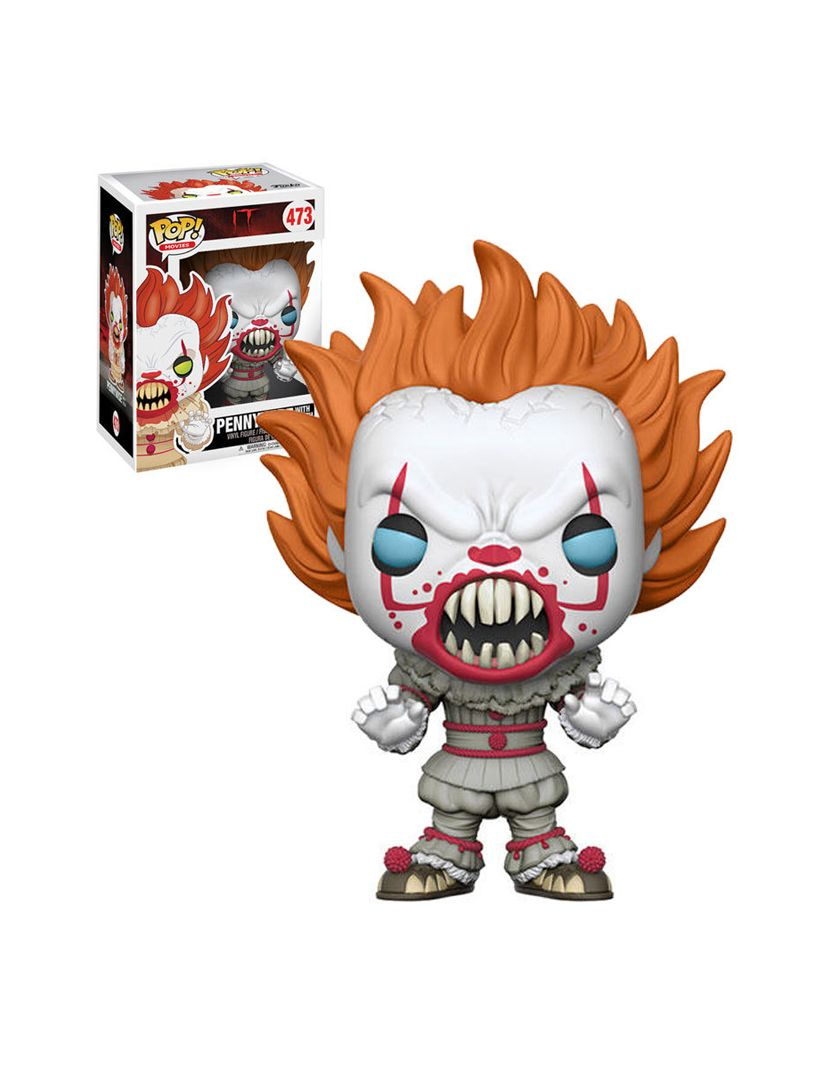 FUNKO POP PENNYWISE #473 EXCLUSIVE IT BILL SKARSGARD MOVIES