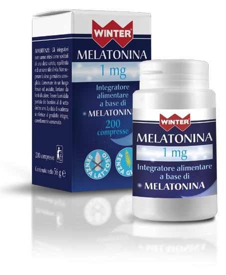 WINTER MELATONINA 1 MG 200CPR