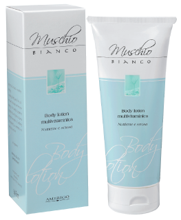 Body lotion crema corpo Muschio Bianco Amerigo 200 ml