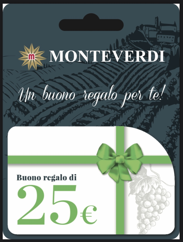 Gift Card Euro 25,00