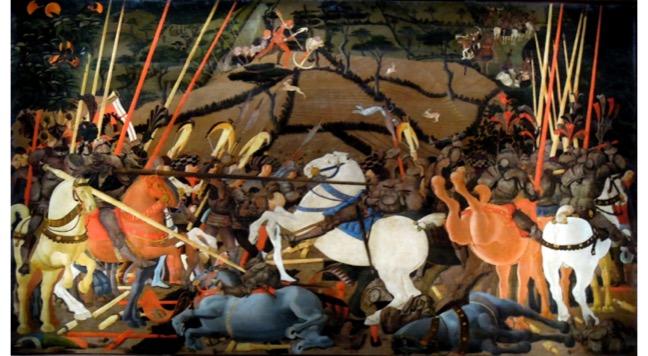 paolo uccello battaglia di san romano firenzejpg
