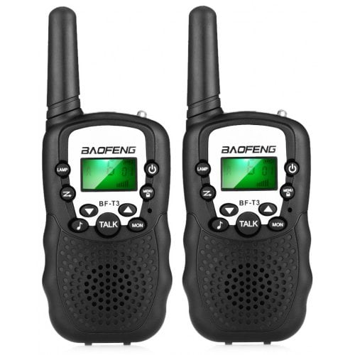 COPPIA WALKIE TALKIE 2W UHF