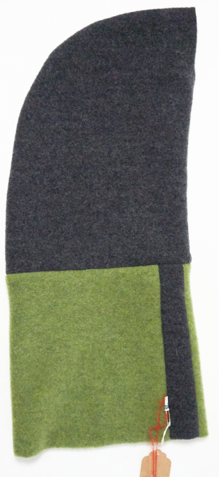 Hooded collar ABsideBio in organic wool