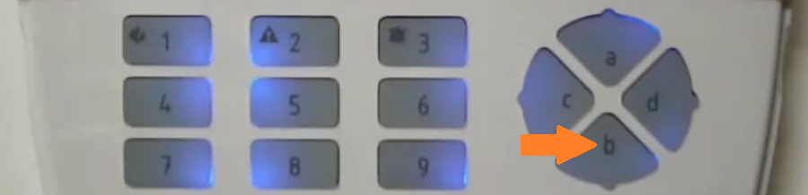 Regolazione volume tastiera Lcd Bentel Absolutapng