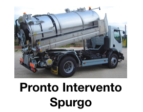 Pronto Intervento Spurgo