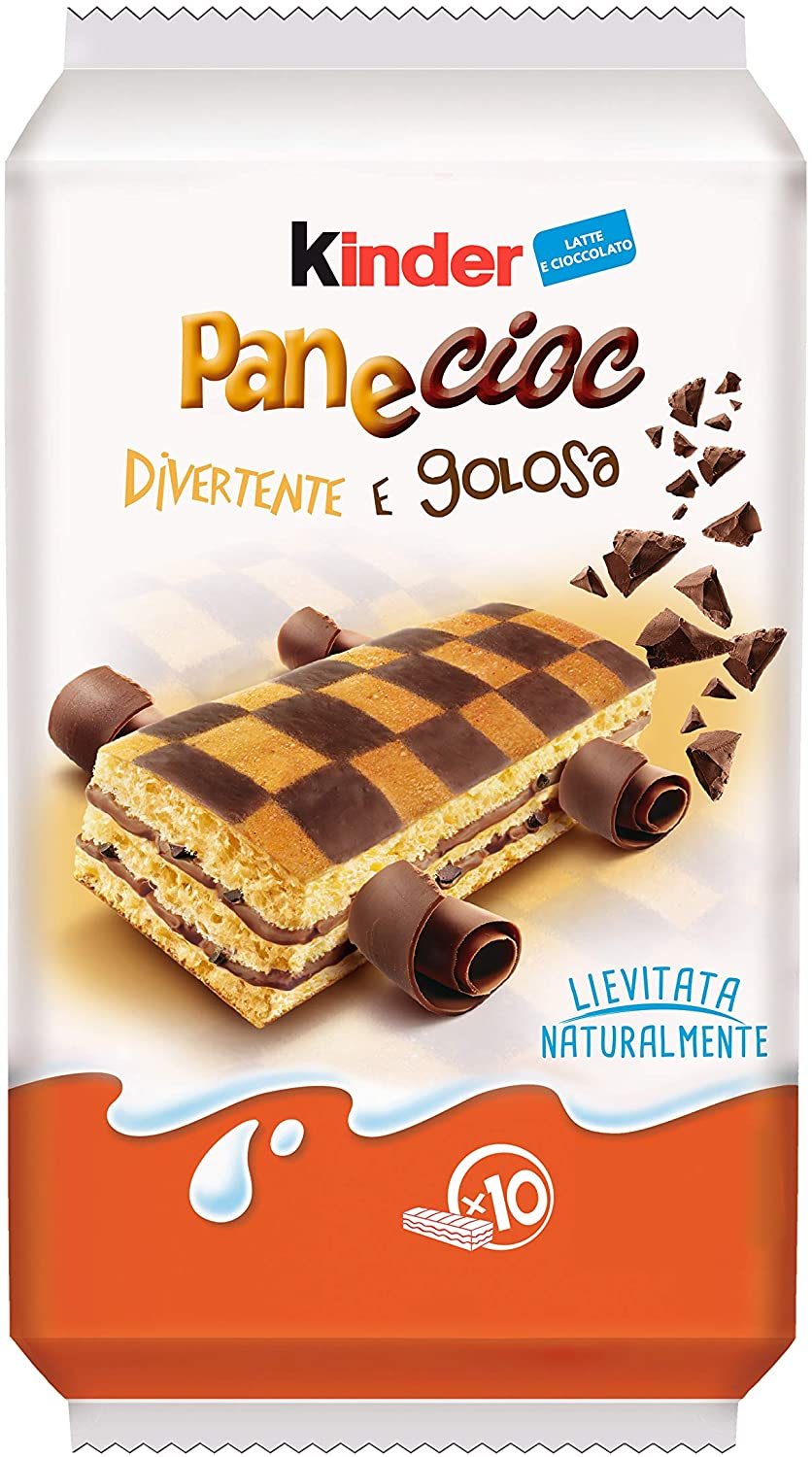 "Kinder Pane Cioc 10pz - 290gr (10.22oz) ""Imported from Italy"""