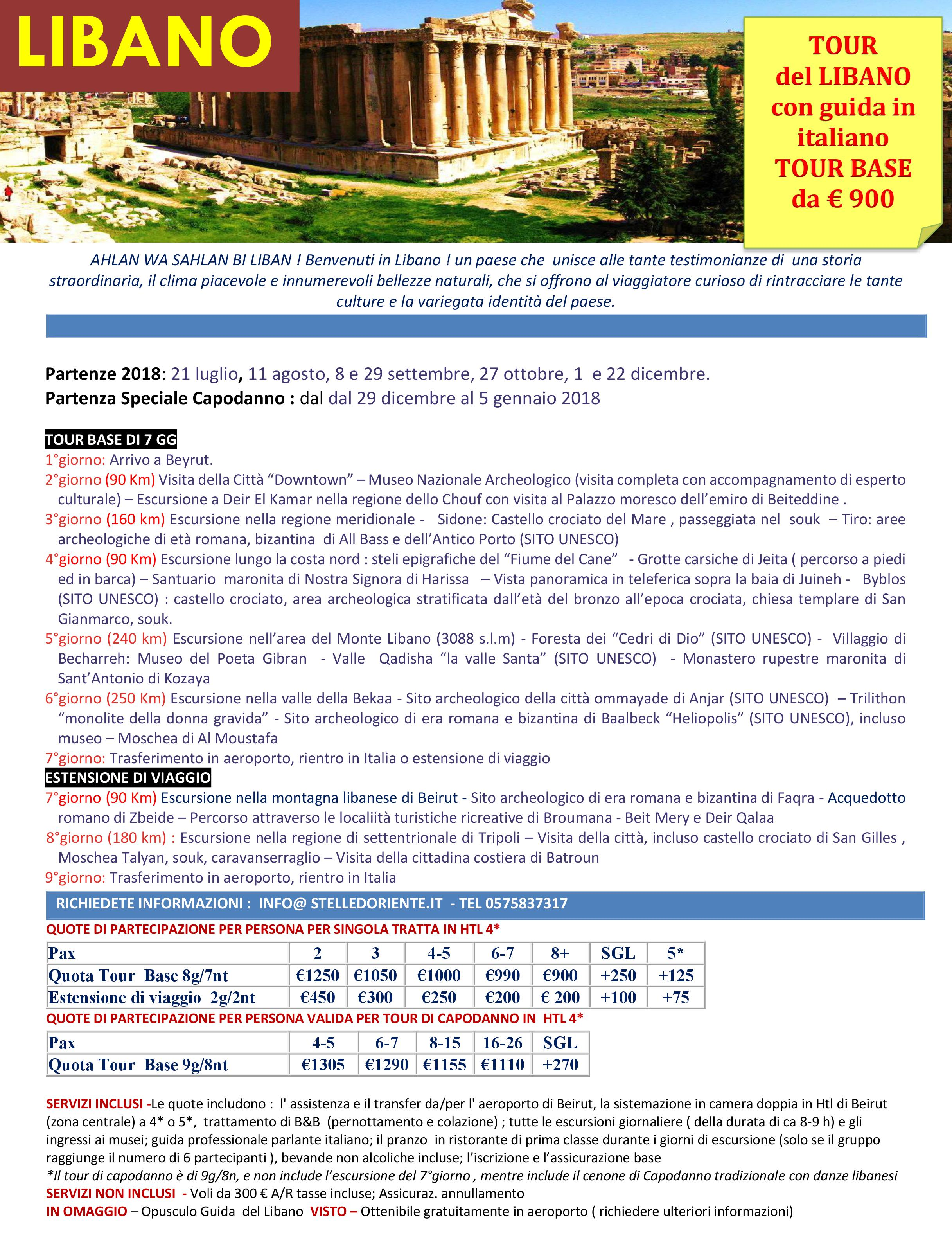 LOCANDINA  LIBANO TOUR 2018output1jpg