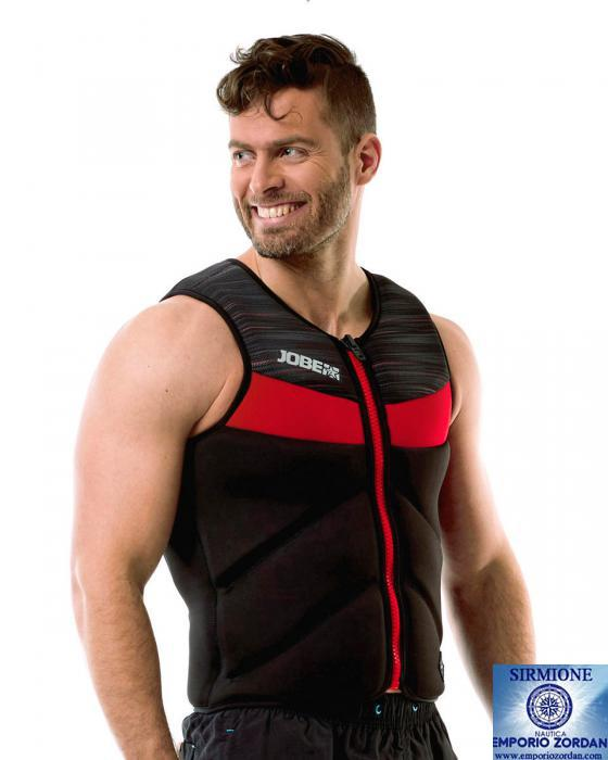 IMPACT COMP VEST ZIPPER MEN RED S JOBE 554018003 GIUBBOTTO WAKEBOARD SNORKELING
