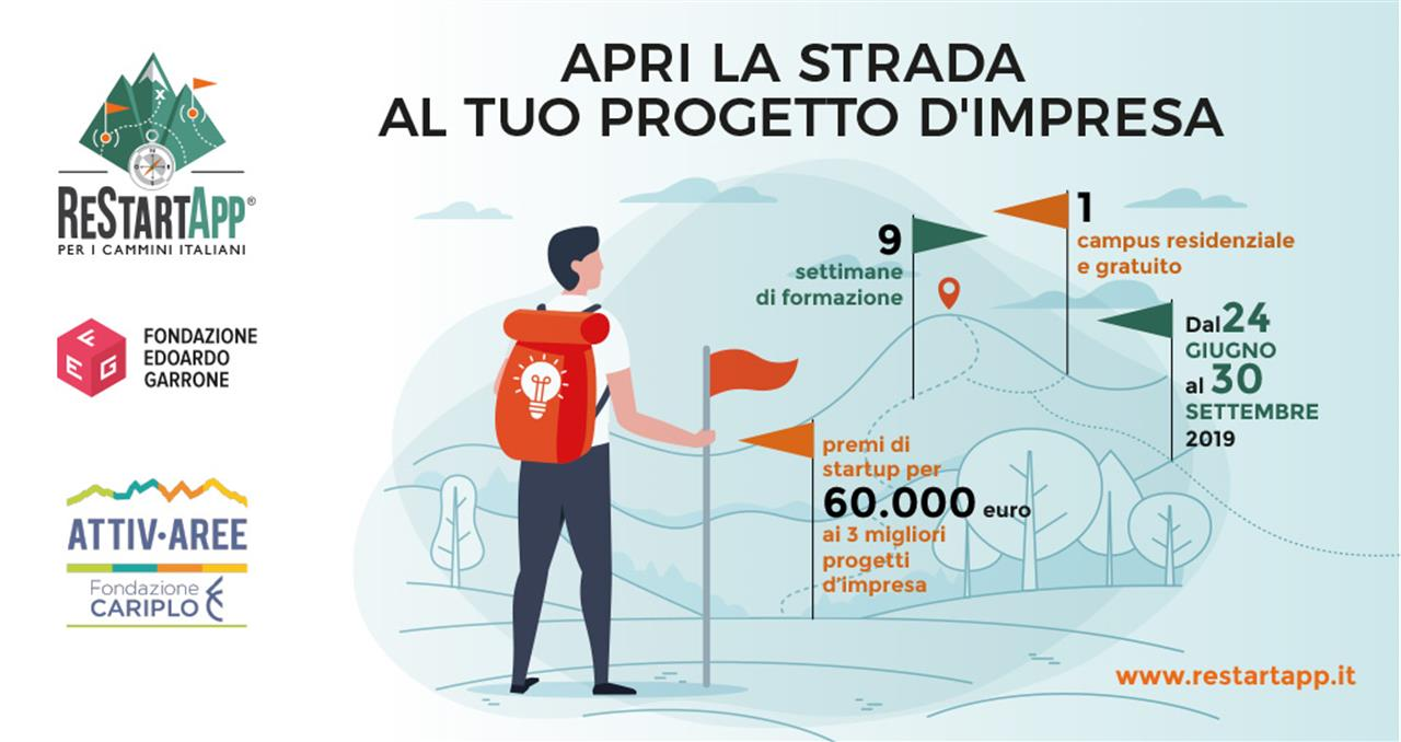 ReStartApp, la call for ideas ora punta ai cammini